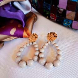 Boucles d'oreilles ROCHA